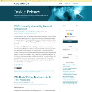 Inside Privacy
