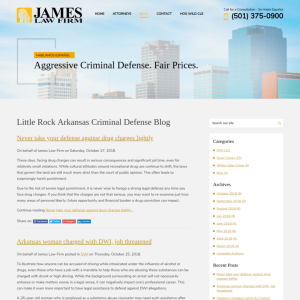 Arkansas Criminal Defense Blog