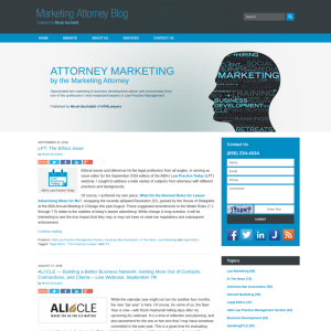 Marketing Attorney Blog