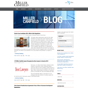 Miller Canfield Blog