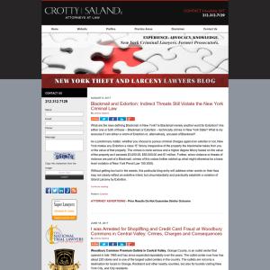 New York Theft and Larceny Lawyers Blog