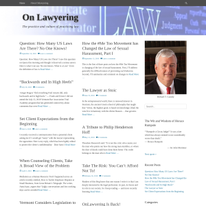 On Lawyering