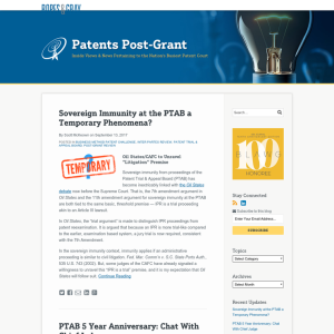 Patents Post-Grant