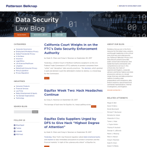 Data Security Law Blog