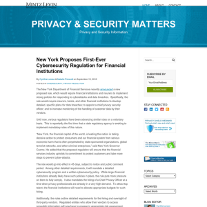 Privacy & Security Matters
