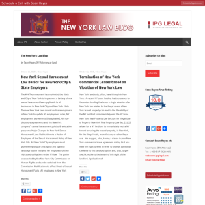 The New York Law Blog