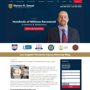 Los Angeles Personal Injury Attorney Blog