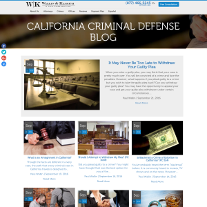 California Criminal Defense Blog