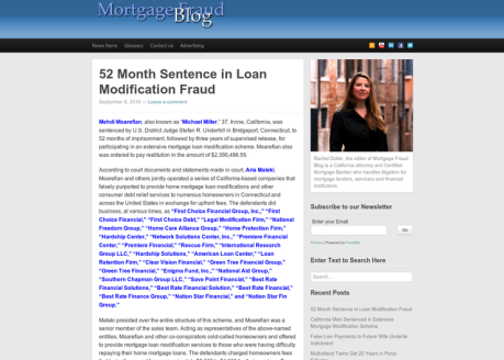 Mortgage Fraud Blog