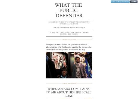 What The Public Defender
