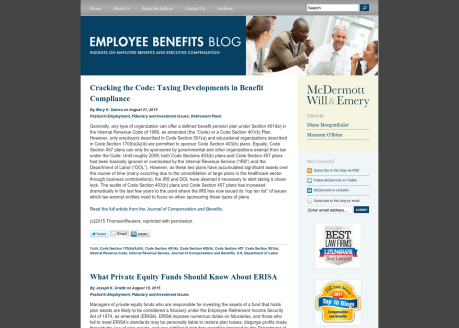 Employee Benefits Blog