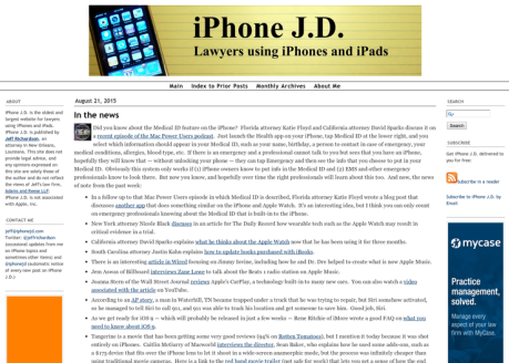 iPhone JD