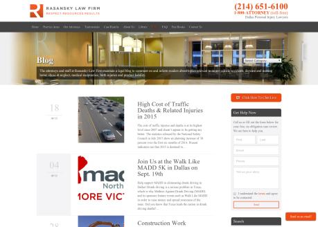 Rasansky Law Firm Blog