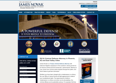 The Law Office of James Novak