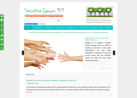 Securities Lawyer 101