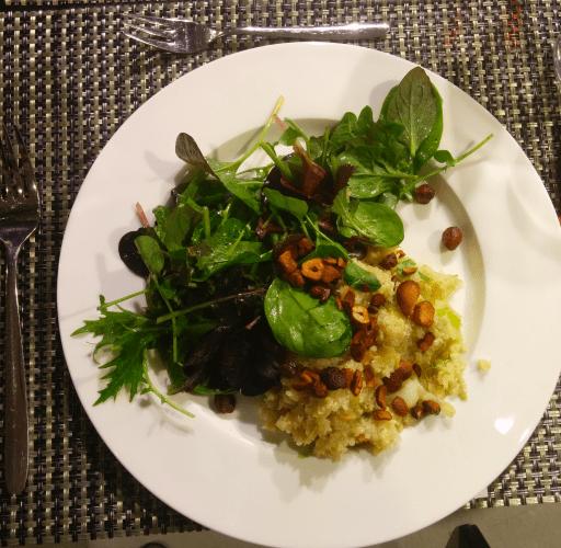 Detox Menu part 2 - Risotto di quinoa con cavolo a punta e mele