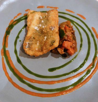 Ristorante Tocco D'oro a Comiso - pesce spatola con caponatina