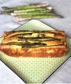 Plumcake salato agli asparagi e tocchetti di scamorza