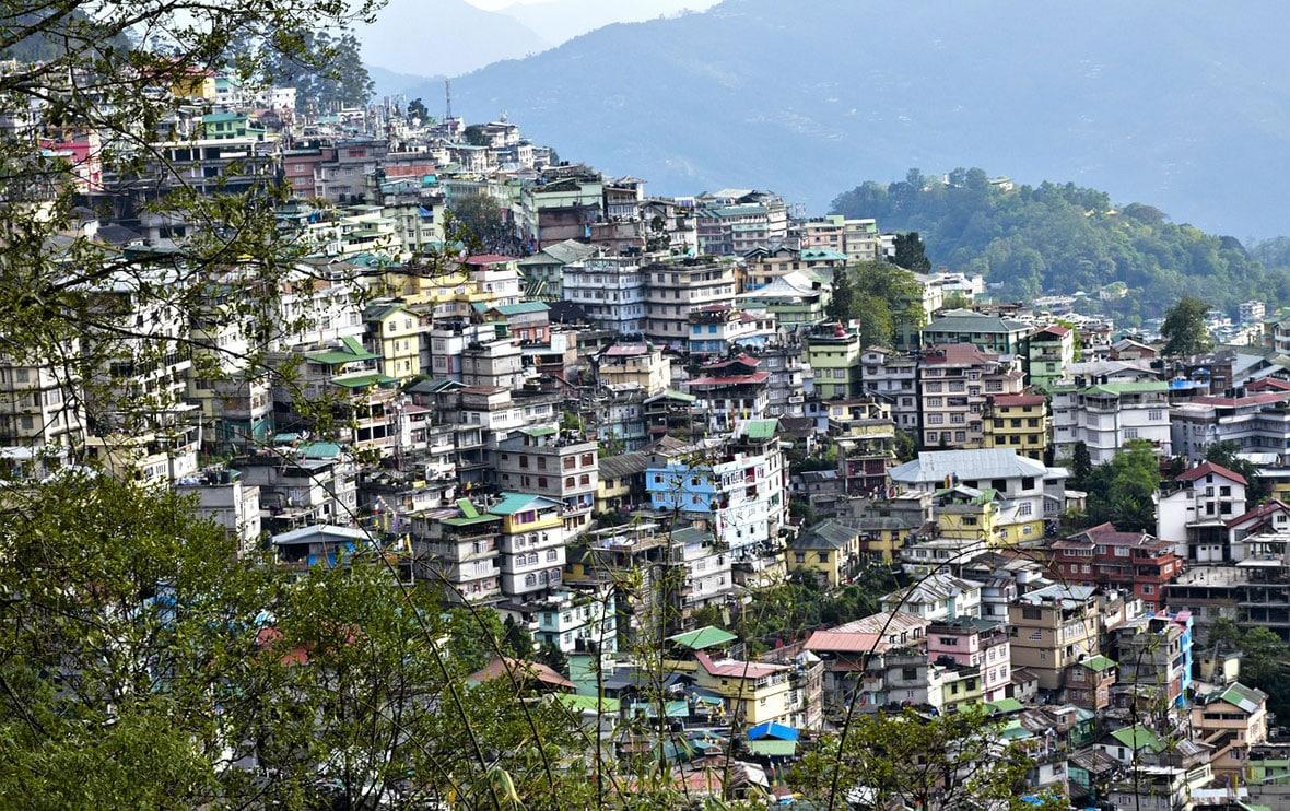 Nagaland in landscape