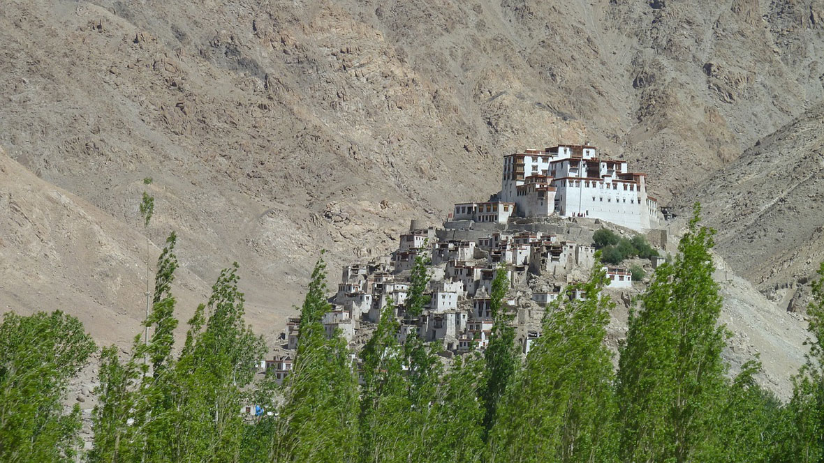 Thiksey Monastery in Hemis