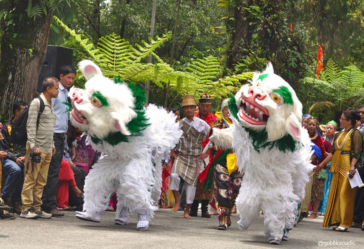 singhi chham dance sikkim