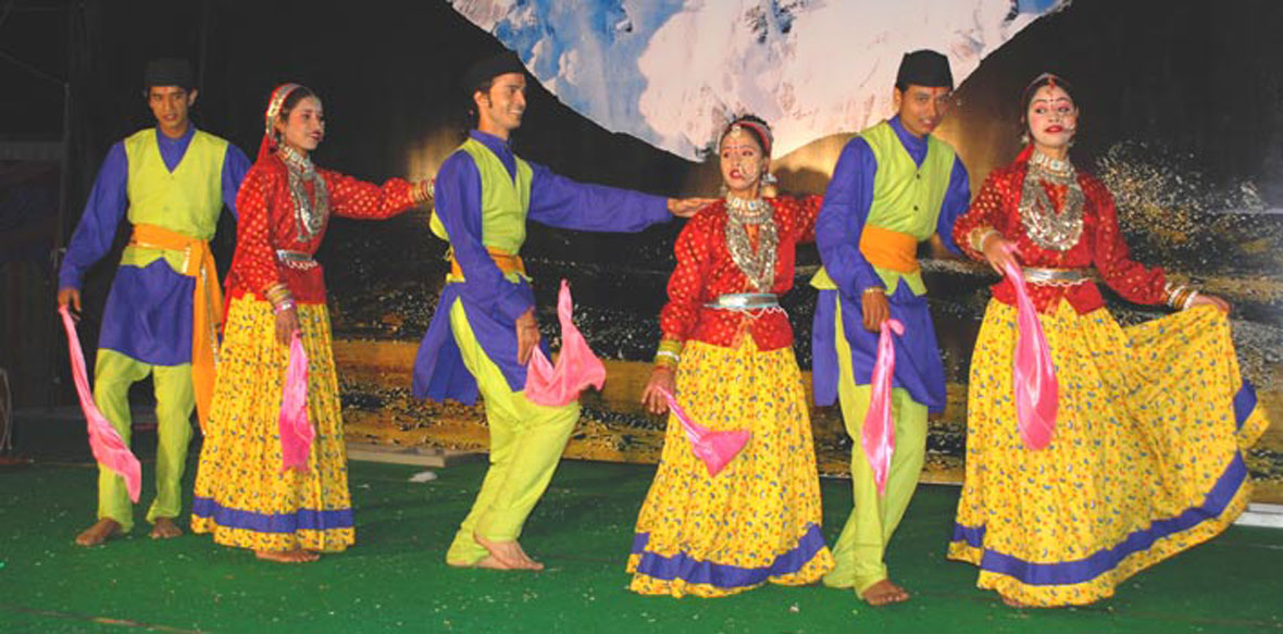 Hurka Baul dance Uttarakhand