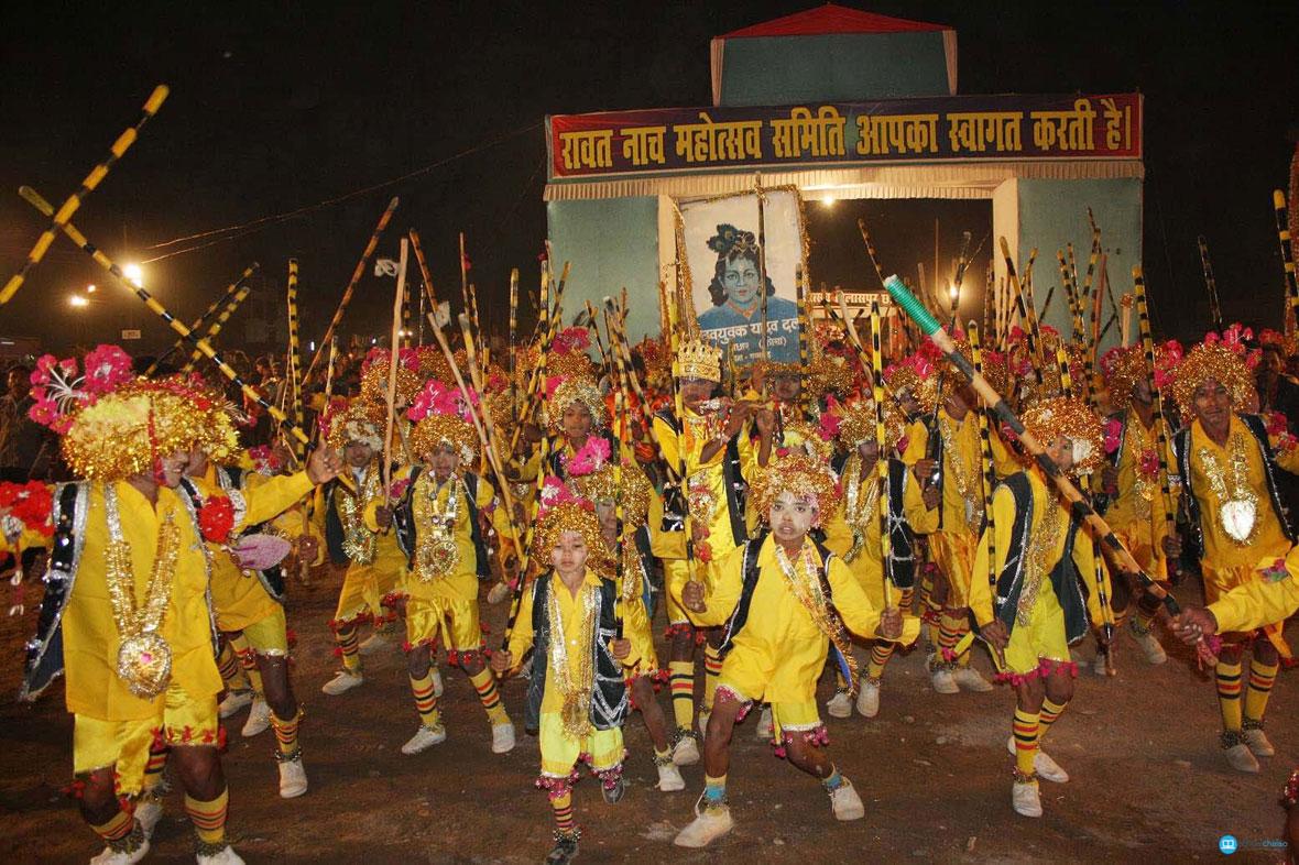 Raut Nacha Dance in Chhattisgarh