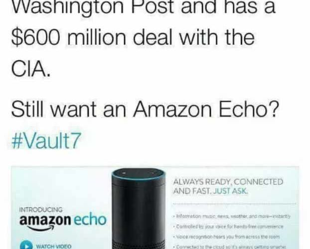 amazon echo cia
