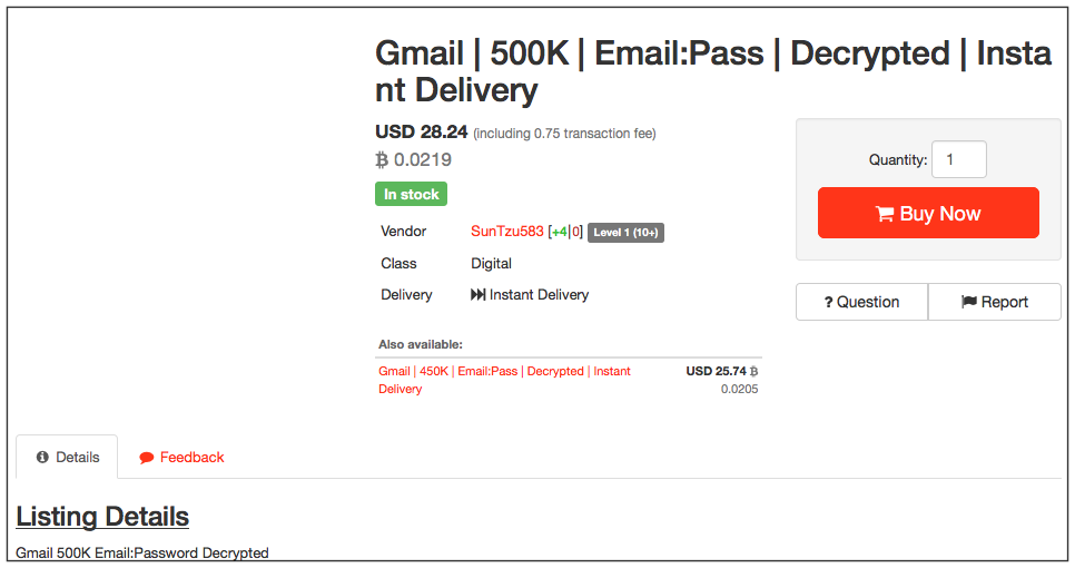 Decrypted Gmail