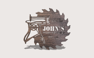 Scroll saw workshop sign Downloadable Scroll Saw Pattern The Holz Brothers