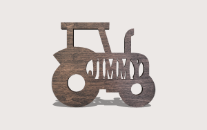 Tractor Name Downloadable Scroll Saw Pattern The Holz Brothers