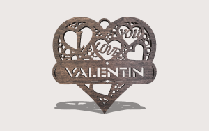 Full Of Love Downloadable Scroll Saw Pattern The Holz Brothers