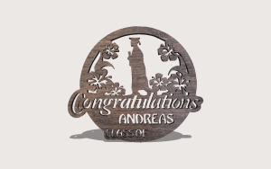 Commencement Downloadable Scroll Saw Pattern The Holz Brothers