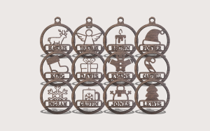 The Symbols of Christmas Downloadable Scroll Saw Pattern The Holz Brothers