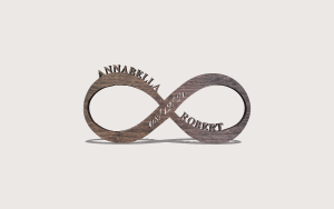 Infinity Personalizable Scroll Saw Pattern The Holz Brothers