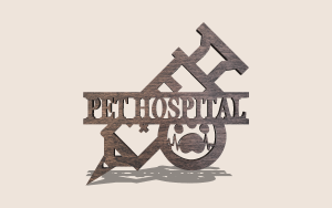 Veterinarian Sign Digital Scroll Saw Pattern The Holz Brothers