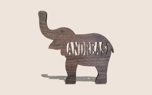 Elephant Name Printable Scroll Saw Pattern The Holz Brothers