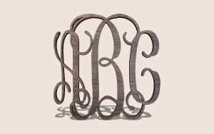 Vine Monogram Printable Scroll Saw Pattern The Holz Brothers