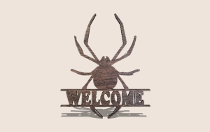 Spider Split Sign Digital Scroll Saw Pattern The Holz Brothers
