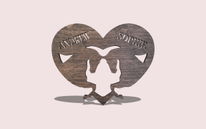 Love Horse PDF Scroll Saw Pattern The Holz Brothers