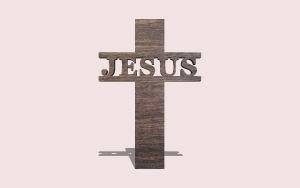 Cross with Name Customizable Scroll Saw Pattern The Holz Brothers