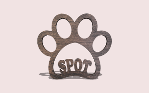 Animal Paw PDF Scroll Saw Pattern The Holz Brothers