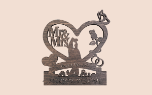 Wooden Wedding Sign Printable Scroll Saw Pattern The Holz Brothers