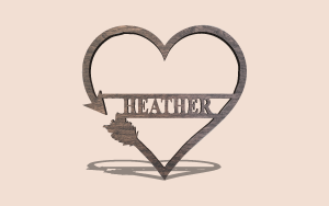 Arrow Heart Digital Scroll Saw Pattern The Holz Brothers