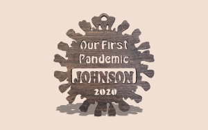 First Pandemic Ornament Digital Scroll Saw Pattern The Holz Brothers