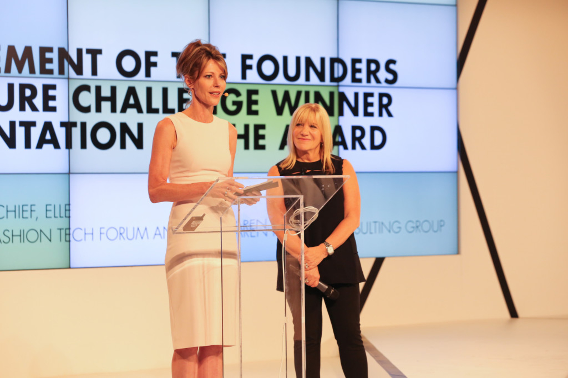 Karen Harvey and ELLE Present the Founders of the Future Challenge