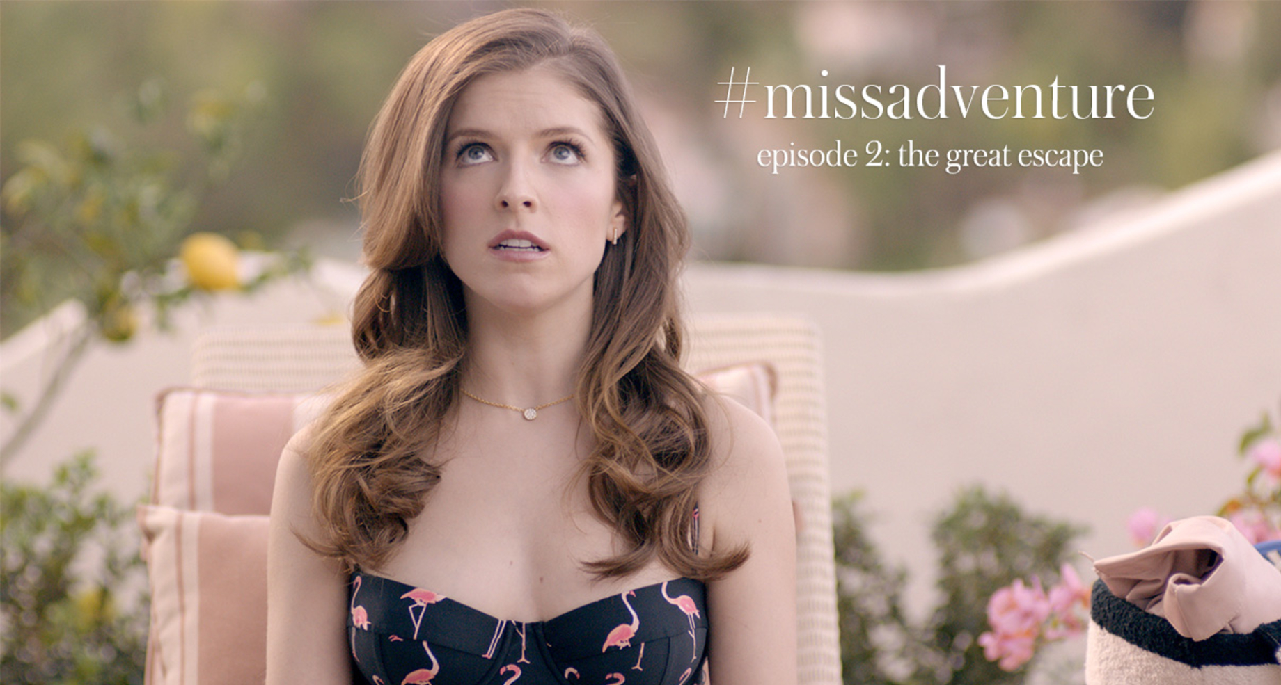 Kate Spade New York Releases Episode 2 of the #MissAdventure Video Series, Staring Anna Kendrick