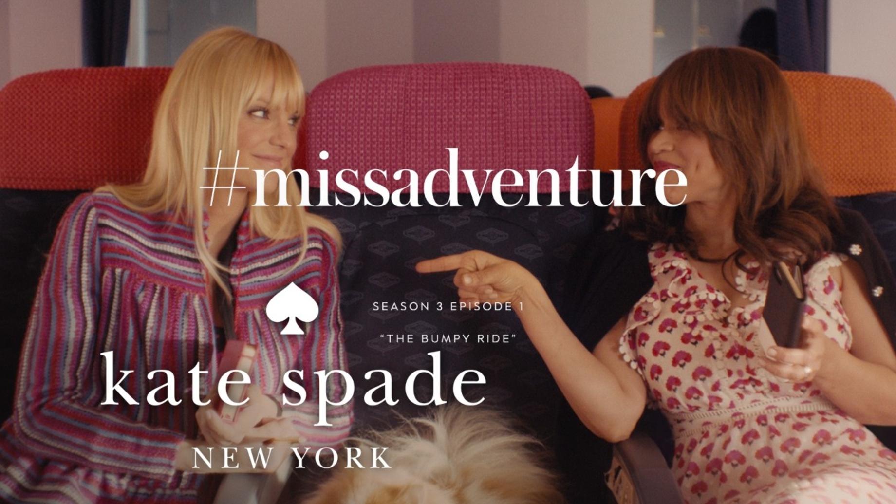 Anna Faris & Rosie Perez in #missadventure: the bumpy ride