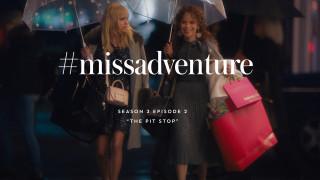 anna faris & rosie perez in #missadventure: the pit stop