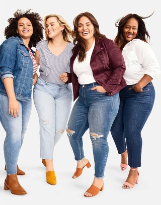 Rejoice, Old Navy's Plus Collection Is Finally Available in Stores